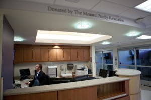 MFF Funds Nursing Station Scripps Mercy ED