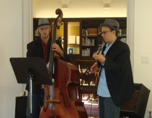 Jazz Supper at the Athenaeum, La Jolla