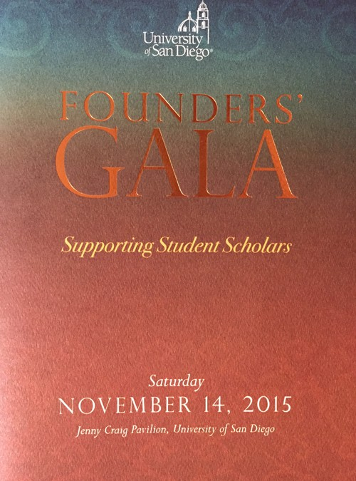 University of San Diego Founders' Gala
