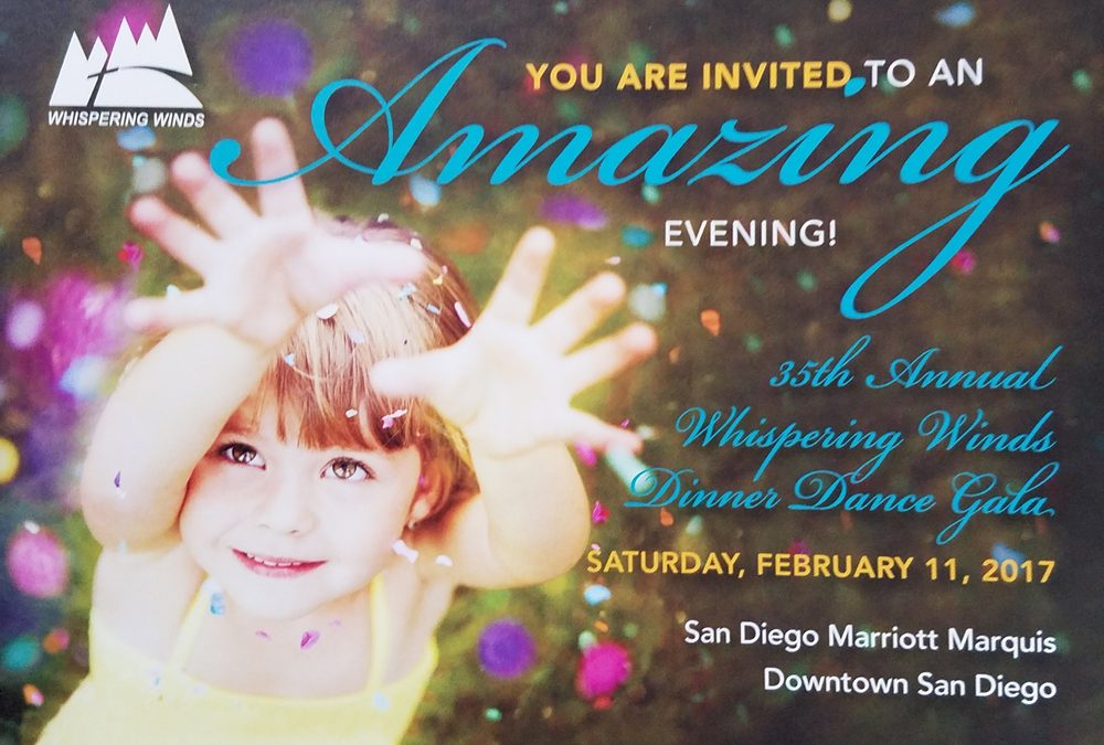35th Annual Whispering Winds Dinner Dance Gala