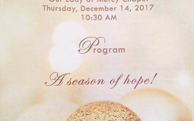 Annual Holiday Blessing and Interfaith Service at Scripps Mercy Hospital