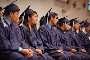 Graduation at Nativity Prep Academy