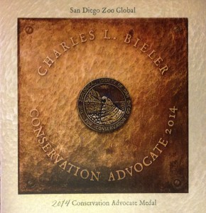 Board of Trustees of San Diego Zoo Global – 2014 Conservation Medal  Luncheon and Award