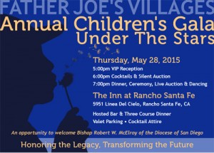 Annual Children's Gala – An Evening Benefiting Father Joe's Villages