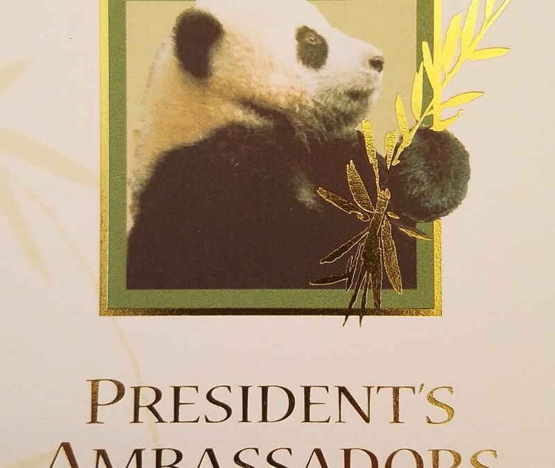 Special Presentation for President's Ambassadors at San Diego Zoo Global