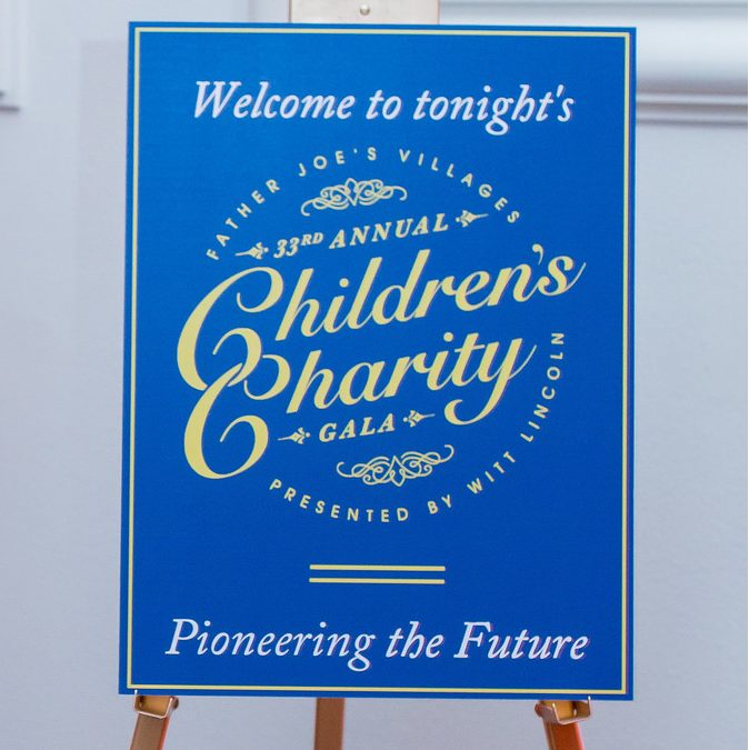 Fr. Joe's Villages 33rd Annual Children's Charity Gala