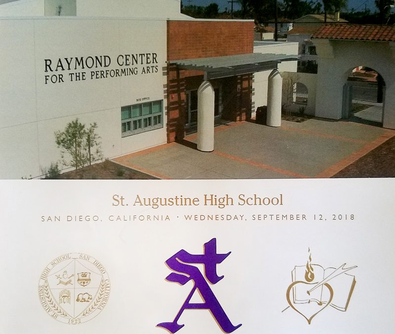 Dedication Mass – St. Augustine High School
