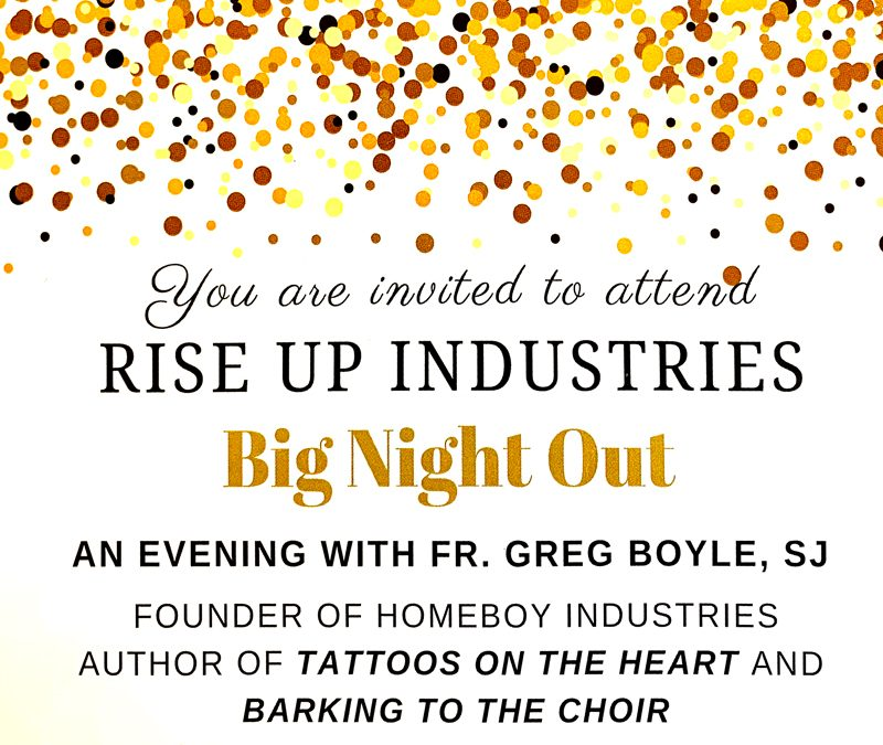 Rise Up Industries – Big Night Out