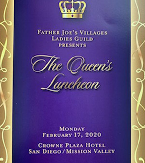 Father Joes' Villages Ladies Guild – The Queen's Luncheon