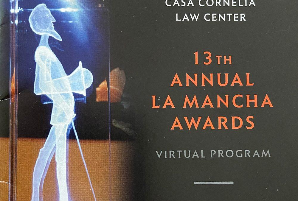 Casa Cornelia 13th Annual La Mancha Awards