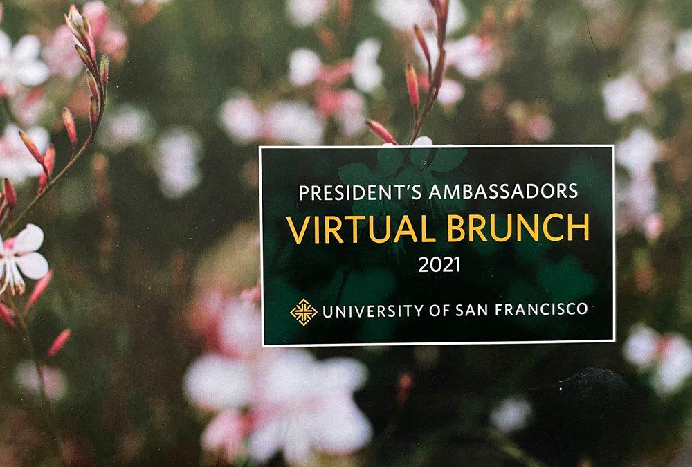 President's Ambassadors Virtual Brunch 2021